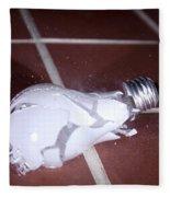 Light Bulb Smashing Fleece Blanket