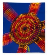 Light Dance Fleece Blanket
