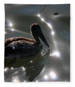 Light Dancer 4 Fleece Blanket