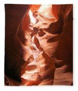 Light From Above Fleece Blanket