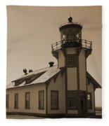 Light House 3 Fleece Blanket