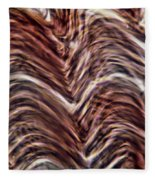 Light Micrograph Of Smooth Muscle Tissue Fleece Blanket
