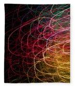 Light Painting 6 Fleece Blanket