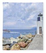Lighthouse Camogli Fleece Blanket