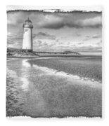 Lighthouse Reflected Fleece Blanket