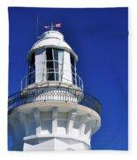 Lighthouse Turret Fleece Blanket