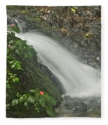 Likeke Falls 51 Fleece Blanket