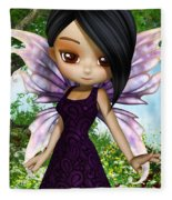 Lil Fairy Princess Fleece Blanket