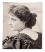 Lily Hanbury (1874-1908) Fleece Blanket