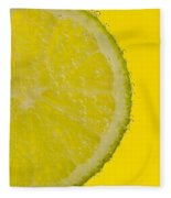 Lime Slice Soda 1 Fleece Blanket