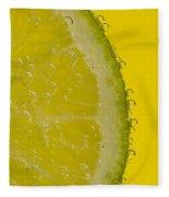 Lime Slice Soda 2 Fleece Blanket