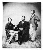Lincoln & Secretaries, Fleece Blanket