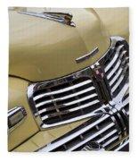 Lincoln Grille Fleece Blanket