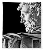 Lincoln Profile Fleece Blanket