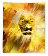 Lion Of Judah Fleece Blanket