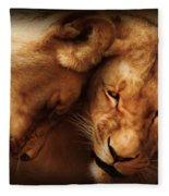 Lioness Love Fleece Blanket