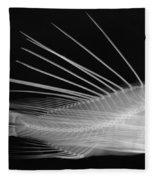 Lionfish X-ray Fleece Blanket