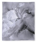 Liquid Rose Fleece Blanket