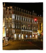Lisbon Main Street Fleece Blanket