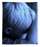 Little Boy Blue Fleece Blanket
