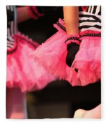 Little Pink Tutus Fleece Blanket