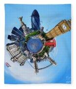 Little Planet - London Fleece Blanket