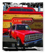Little Red Express Dbl Hdr Fleece Blanket