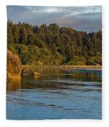 Little River Panorama Fleece Blanket