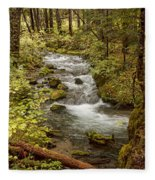 Little Zig Zag Stream Fleece Blanket