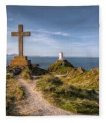 Llanddwyn Island Fleece Blanket