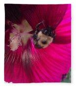Loaded Bee Fleece Blanket