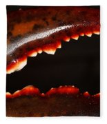 Lobster Claw Fleece Blanket