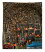 Lobster Pot Arch Fleece Blanket