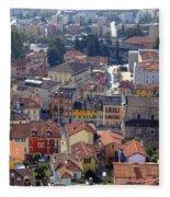 Locarno - Ticino Fleece Blanket
