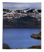 Loch Ness Fleece Blanket
