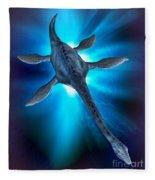 Loch Ness Monster Fleece Blanket