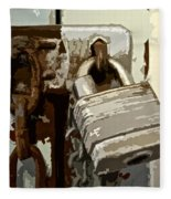Lock And Chain Fleece Blanket