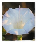 Loco Weed Flower Fleece Blanket