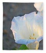 Loco Weed Flowers 1 Fleece Blanket
