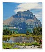 Logan Pass Fleece Blanket