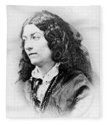 Lola Montez (1818-1861) Fleece Blanket