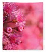 Lollypop Gum Tree Blossoms Fleece Blanket