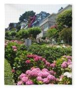 Lombard Street Fleece Blanket