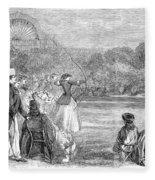 London: Archery, 1859 Fleece Blanket