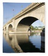 London Bridge II Fleece Blanket