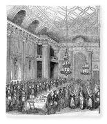 London: Freemasons Hall Fleece Blanket
