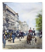 London: Piccadilly, 1895 Fleece Blanket
