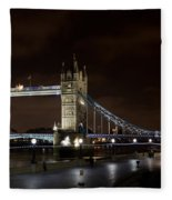 London Southbank View Fleece Blanket