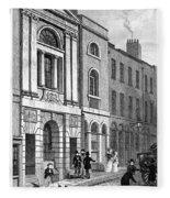 London: Watermans Hall Fleece Blanket