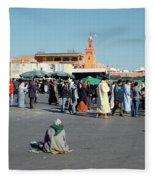Lonely In Marrakesh Fleece Blanket